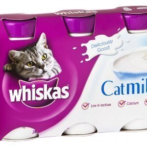 Whiskas 3 X 200 Ml Kissanmaito