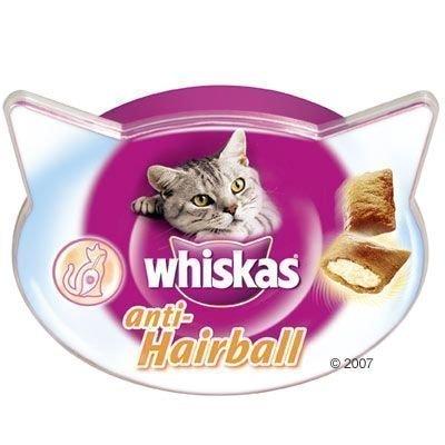 Whiskas Anti-Hairball - säästöpakkaus: 5 x 60 g