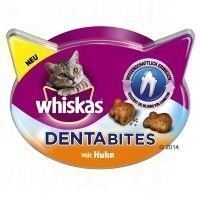 Whiskas Dentabites - lajitelma: lohi 5 x 40 g