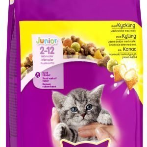 Whiskas Junior Kanaa 350 G Kissan Ruoka
