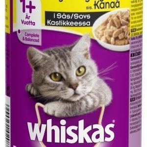 Whiskas Kanaa Kastikkeessa 400 G Kissan Täysravinto