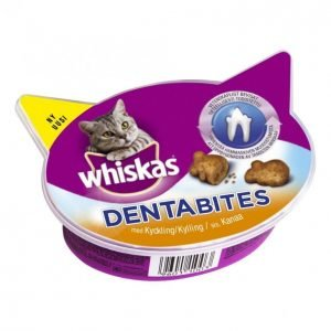 Whiskas Kissanherkku 40g Dentabites Kana
