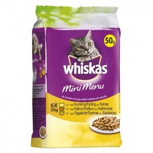 Whiskas Kissanruoka 6 X 50 G Mini Menu Siipikarja