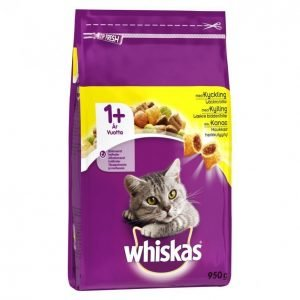 Whiskas Kissanruoka 950g 1+ Kana