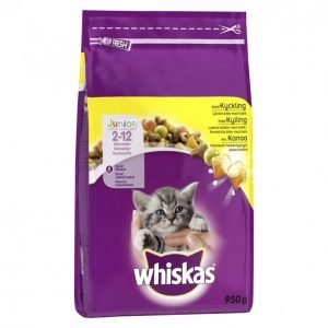 Whiskas Kissanruoka 950g Junior Kana