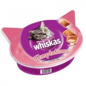 Whiskas Kissanruoka Temptations Seafood 60 G