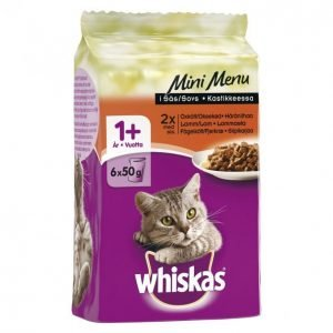 Whiskas Mini Menu 6x50g Mix