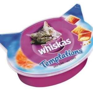 Whiskas Temptations Lohi 60 G