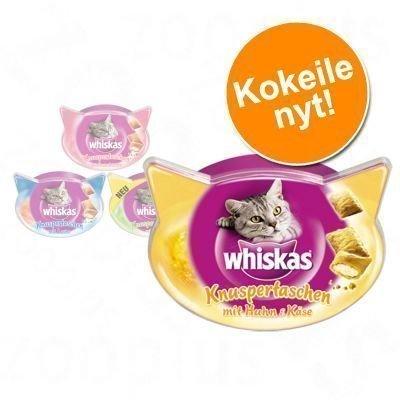 Whiskas Temptations -valikoima 5 x 60 g - 5 makua