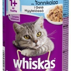 Whiskas Tonnikalaa Hyytelössä 400 G Kissan Täysravinto
