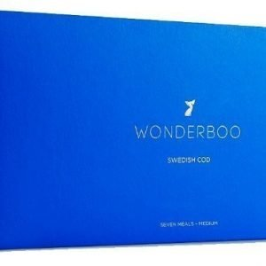 Wonderboo Swedish Cod Medium 7x80g