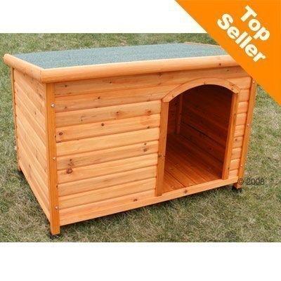 Woody-koirankoppi muoviovella - S-koko: P 85 x L 57 x K 58 cm