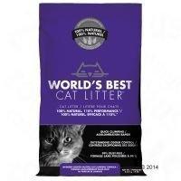 Worlds Best Lavender -kissanhiekka - säästöpakkaus: 2 x 12