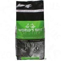 World's Best -kissanhiekka - säästöpakkaus: 2 x 12