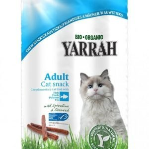 Yarrah Cat Organic Chew Sticks 15 G