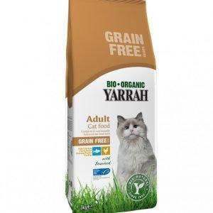 Yarrah Cat Organic Chicken & Fish Adult Grain Free 3 Kg
