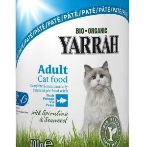 Yarrah Cat Organic Fish Paté 12x400 G