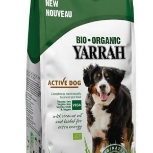 Yarrah Dog Organic Active Vegetarian 10 Kg