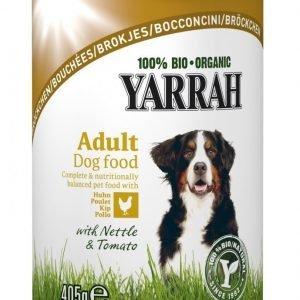 Yarrah Dog Organic Chicken Chunks 12x405 G