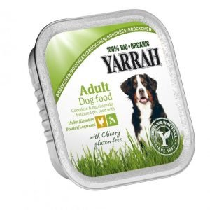 Yarrah Dog Organic Chicken Chunks & Vegetables 14x150 G