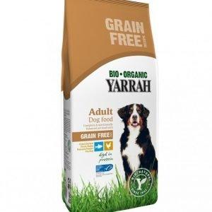 Yarrah Dog Organic Chicken & Fish Adult Grain Free 10 Kg