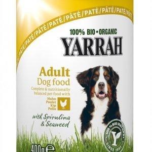 Yarrah Dog Organic Chicken Paté 12x400 G