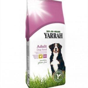 Yarrah Dog Organic Chicken & Rice Sensitive Adult 10 Kg