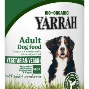 Yarrah Dog Organic Vegetarian Chunks 12x380 G