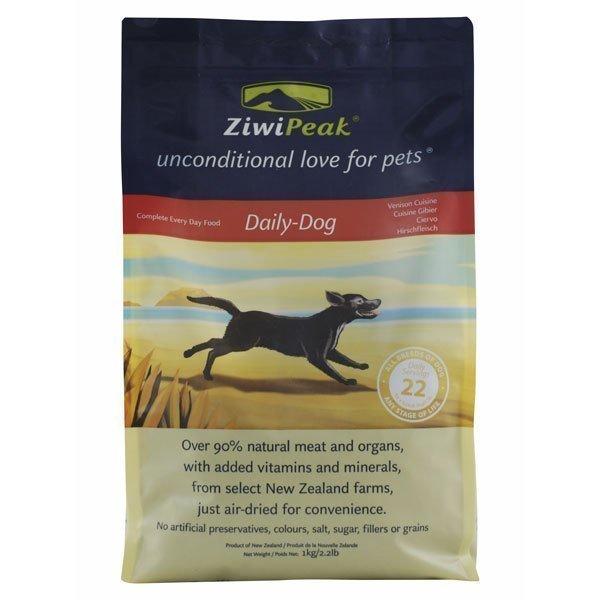 Ziwi Peak Ziwipeak Dog Venison 1kg