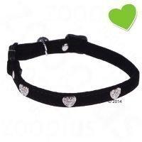 zoolove Diamond Hearts -kaulapanta - musta